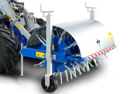 core aerator attachment for mini loader multione