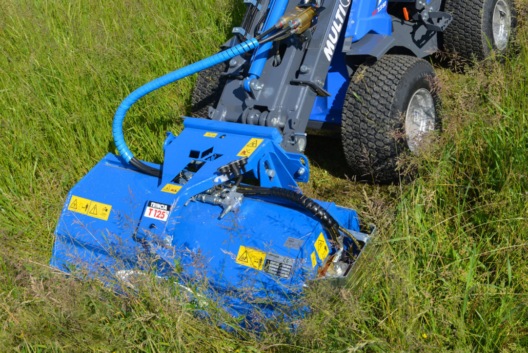 Flail mower with Multifloat® - MultiOne