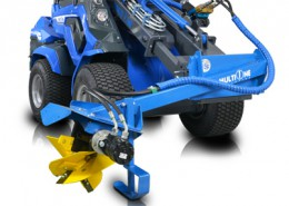 Multione-power-plough for mini loader