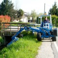 side-flail-mower for mini loader
