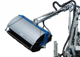 solar-panel-washer-for mini loader