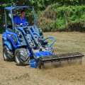 MultiOne mini loader 8 series with power harrow