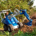 MultiOne mini loader S630 with mini backhoe