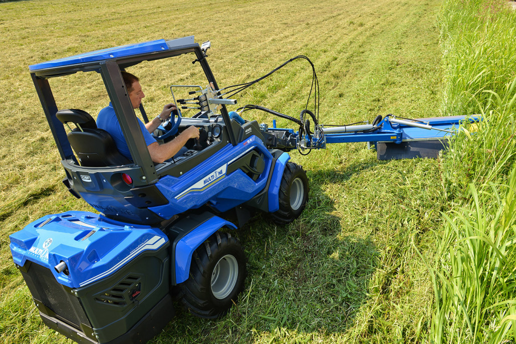 Flail mower with side shift - MultiOne