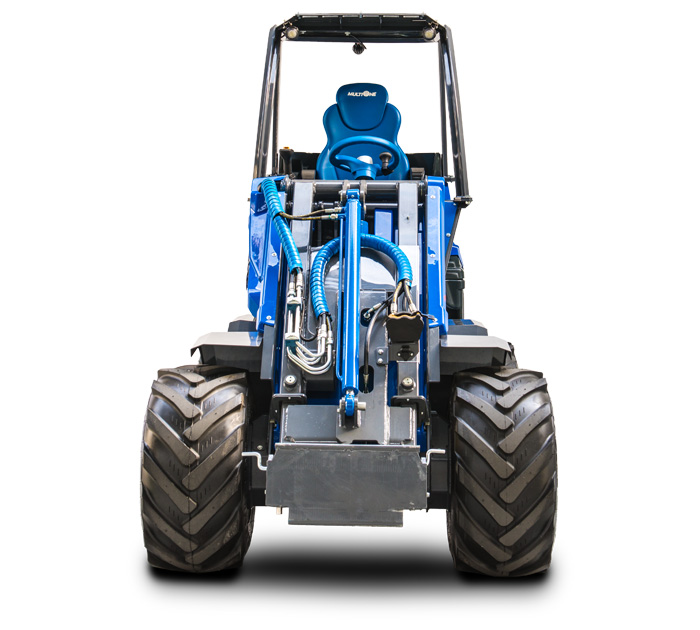 Multione mini loader 9.5SD front