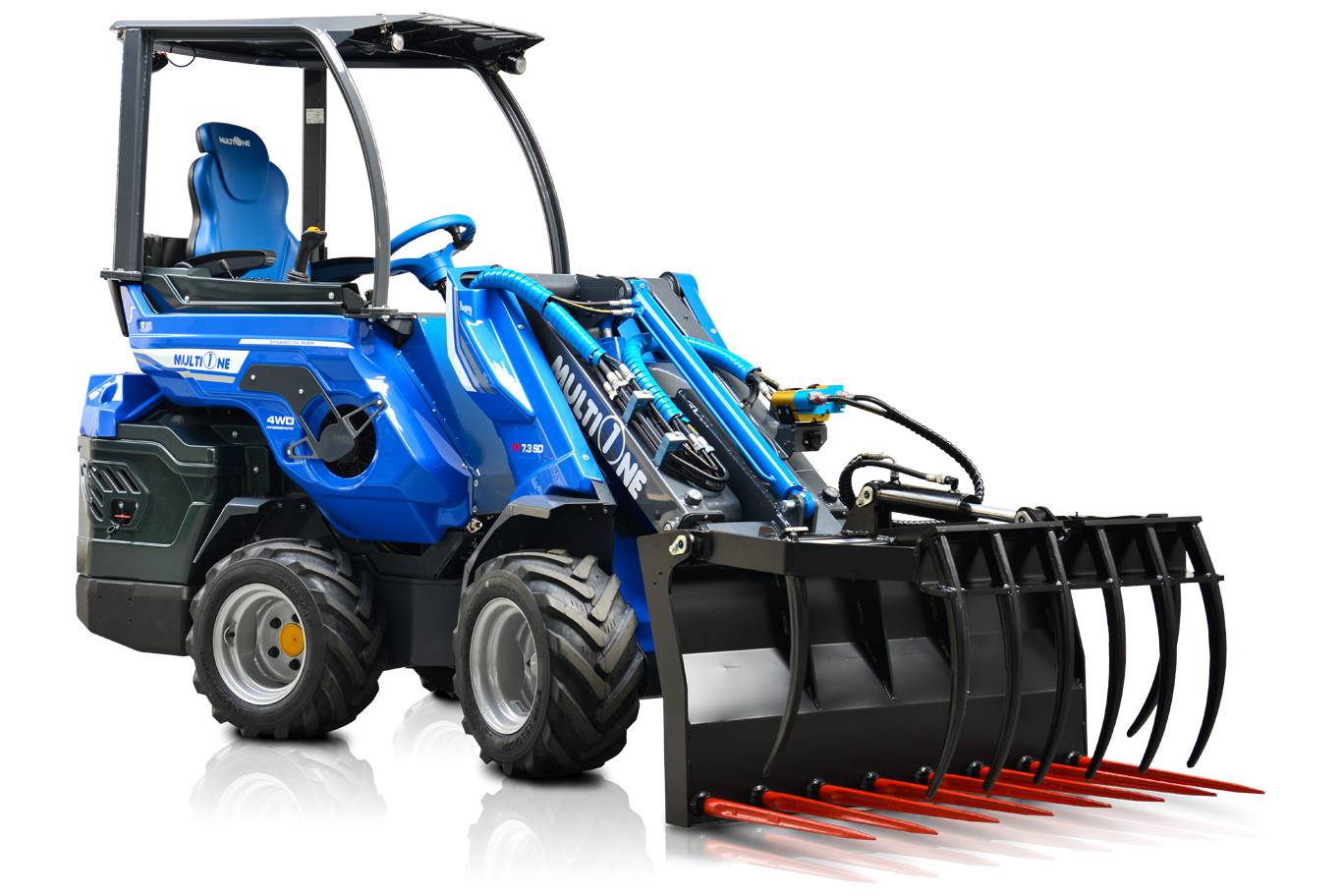 MultiOne Rear Seated Articulated Mini Loaders
