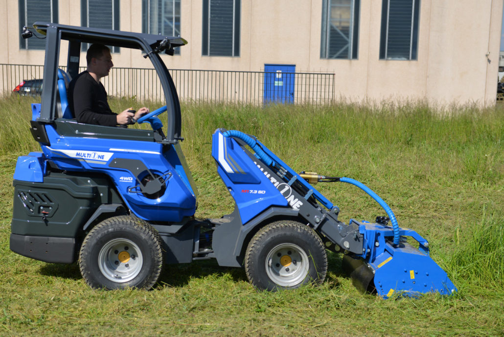 Rear Seated Articulated Mini Loader Sd Series Multione