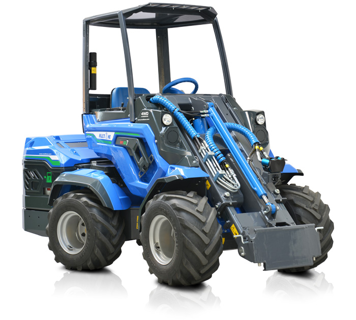 Battery Powered Outlet >> Full Electric Mini Articulated Loader - EZ Series - Multione