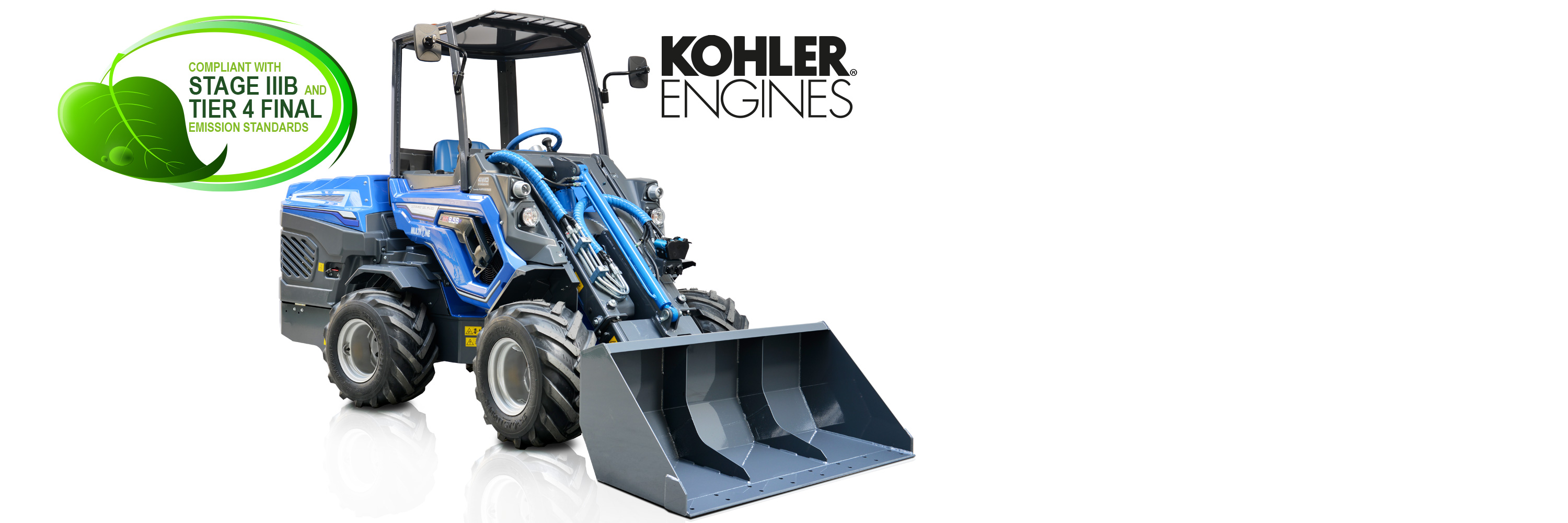 High Torque Articulated Mini Loader - 8 Series - Multione